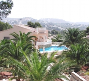 avec piscine privée à Benissa-Moraira