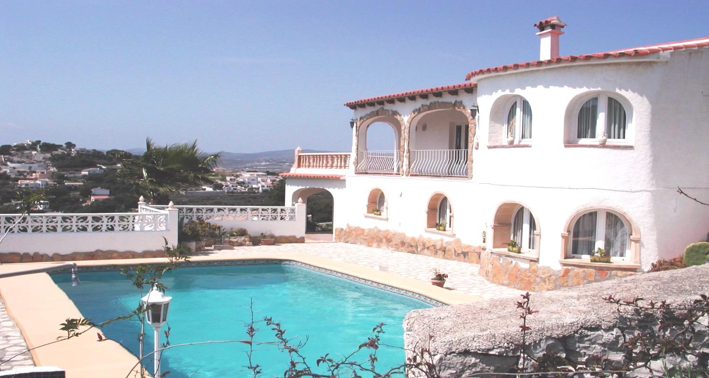 tourisme benissa moraira villa avec piscine priv e. Black Bedroom Furniture Sets. Home Design Ideas