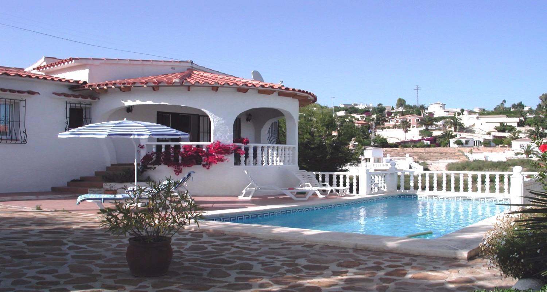 Location villa benissa moraira villa avec piscine priv e for Villa avec piscine privee en espagne