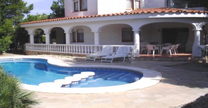 Location villa l 39 ametlla de mar villa avec piscine priv e - Villa avec piscine privee espagne ...