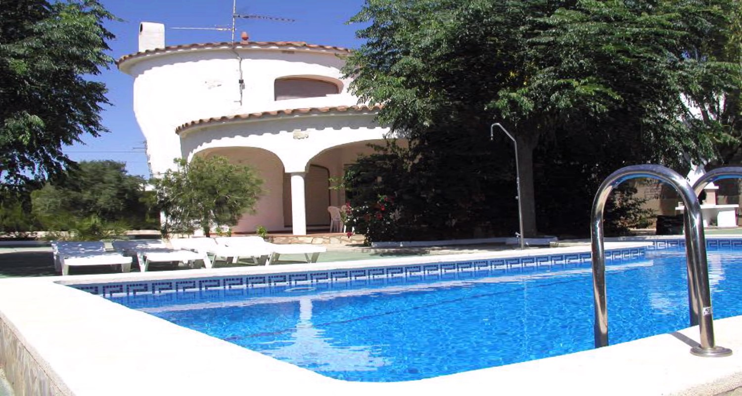 Location villa l 39 ametlla de mar villa avec piscine priv e for Piscine privee